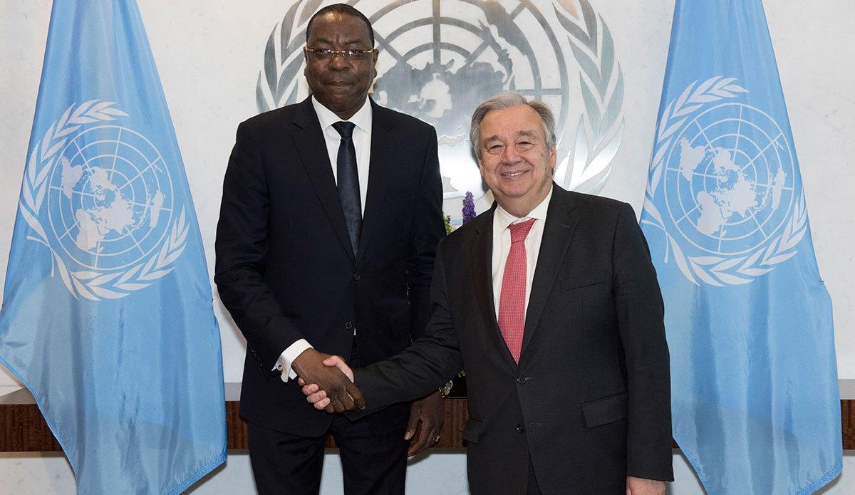 Ndiaye y Guterres