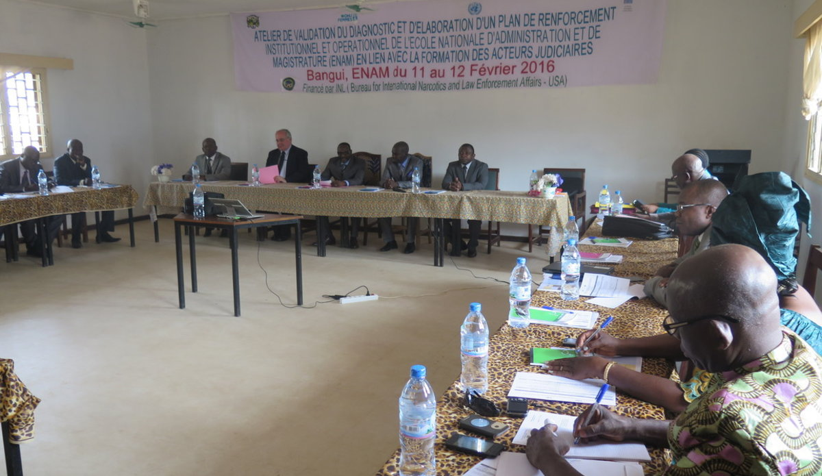 Image result for ecole nationale d'administration et de magistrature bangui