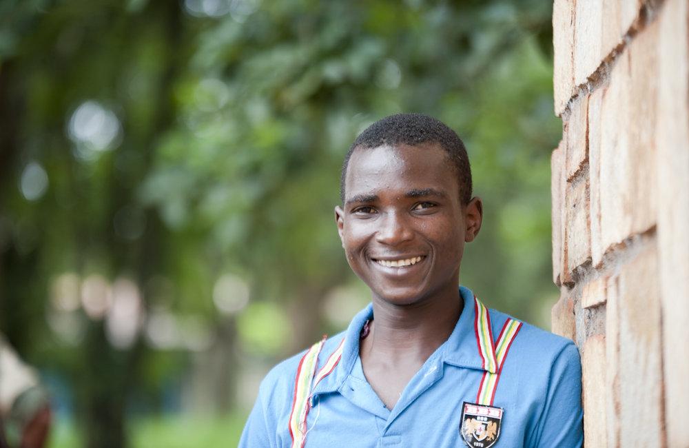 Young man in Bambari, UN Photo/Catianne Tijerina