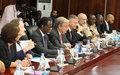 DDRR /RSS : Antonio Guterres  promet son soutien à l'exécution du Plan de Relèvement et de consolidation de la paix