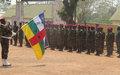 Une première vague de 101 soldats formés dans le cadre du  projet pilote DDRR