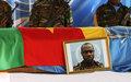 Hommage au sergent-chef Efogo Wilfred du contingent camerounais de la MINUSCA