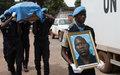 L'UNPol guinéen Amirou Diallo honoré pour la dernière fois par la MINUSCA