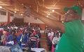 Le mandat de la MINUSCA expliqué aux populations de Baoro