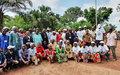 Gambo, Pombolo et Ngandou dans le Mbomou installent leurs comités locaux de paix