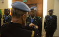 Mali's contribution to peace process in the CAR recognized through its police officers
