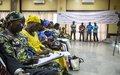 Expliquer le fonctionnement des partis politiques aux femmes pour une meilleure participation aux élections