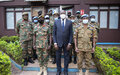 Une mission de l'armée zambienne en RCA pour evaluer la contribution de son contingent deployé à la MINUSCA