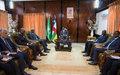Paix et sécurité au menu d'échanges entre le Chef de l'État et le président de la Commission de l'Union africaine