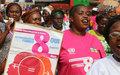 Les Centrafricaines déterminées à contribuer au relèvement de leur pays