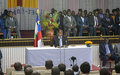 Le Président Touadera à ses concitoyens : « si j'ai fait le choix du dialogue et de la réconciliation, c'est parce que c'est le meilleur »