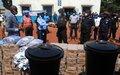 COVID-19: Un projet d'appui aux Forces de sécurité intérieure de Centrafrique
