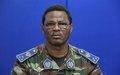 Lieutenant General Daniel Sidiki Traoré of Burkina Faso - Force Commander of the United Nations Multidimensional Integrated Stabilization Mission in the Central African Republic