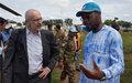 Kaga-Bandoro : le plaidoyer du Représentant spécial adjoint en faveur de la paix
