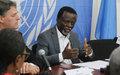 Le nouveau mandat de la MINUSCA au menu d'une rencontre entre le Représentant spécial et les journalistes centrafricains