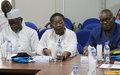 Les maires de Bangui et environs et la MINUSCA passent en revue les questions sécuritaires