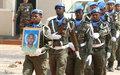Les adieux de la MINUSCA au FPU mauritanien Issa Beilil
