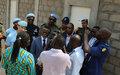 De nouveaux bâtiments pour améliorer les conditions de vie des Policiers mauritaniens à Bangui