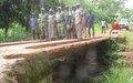 Réhabilitation de ponts à Ndongori et Gbagbongo par la MINUSCA : une contribution au désenclavement de la zone
