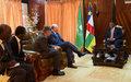 Président Touadera : « J'invite les populations à comprendre que l'enjeu aujourd'hui est leur protection ! »