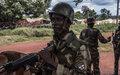 Validation du schéma directeur des infrastructures militaires centrafricaines