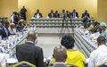 Les signataires de l'accord de paix se retrouvent pour un bilan à mi-parcours