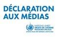 République Centrafricaine: un expert de l'ONU lance un appel à la retenue et à la responsabilité