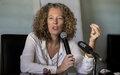 Interview de la Représentante spéciale adjointe Denise Brown sur Guira FM