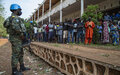 Bangui, un vote dans le calme