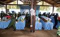 La MINUSCA salue la mémoire de cinq de ses casques bleus