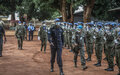 Première visite de terrain du nouveau Commissaire de la Police des Nations Unies