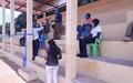 Bria:Réhabilitation de la tribune du stade pour promouvoir le sport et la cohésion sociale