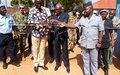 Bambari : sécuriser le commissariat de police pour y améliorer les conditions de travail