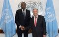 Le Secrétaire général nomme M. Mankeur Ndiaye, du Sénégal, au poste de Représentant spécial pour la République centrafricaine