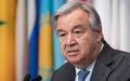 Message du Secrétaire général à l'occasion la journée des Nations Unis