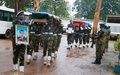 Memorial ceremony held for MINUSCA peacekeepers
