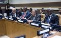 Allocution prononcée à l'occasion de la réunion de haut niveau sur la République centrafricaine