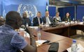 La mission de haut niveau UA-UN-UE face à la presse pour faire le point de sa mission en Centrafrique