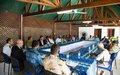 Le chef de la MINUSCA aux communautés des 3e et 5e arrondissements de Bangui : « la sécurité est avant tout une volonté de vivre ensemble »