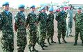 Arrivée en Centrafrique du contingent marocain de l'Unité de gardes des Nations Unies