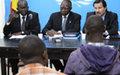 Verbatim de la conférence de presse conjointe ONU-RCA