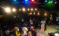 Inauguration de la nouvelle salle culturelle polyvalente de l'alliance française de Bangui.