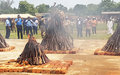 Kaga-Bandoro : 820 armes artisanales détruites à l'occasion de la Journée des casques bleus