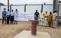 Un château d'eau pour le poste de police de Boeing kokoro et les populations alentours