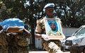 La MINUSCA fait ses adieux au Sergent major Albert Ndikumana du Burundi