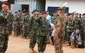 Le Général de Brigade Éric Peltier prend les commandes de l'EUTM en Centrafrique