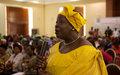 Les femmes leaders ensemble pour mieux contribuer au relèvement de la Centrafrique