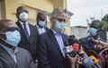 Arrivée à Bangui de hauts responsables de l'Union Africaine, de la CEEAC, de l'ONU et de l'Union Européenne