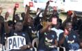 La jeunesse centrafricaine brandit un carton rouge contre la violence !