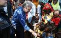"""Le Secrétaire général des Nations Unies aux Centrafricains: """"Votre diversité est une richesse"""""""